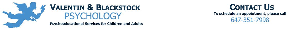 Valentin & Blackstock Psychology