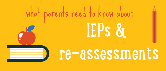 parent guide to IEPs and psychoed reassessment