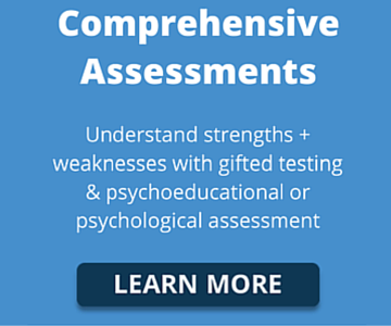 psychoeducational assessments gifted testing