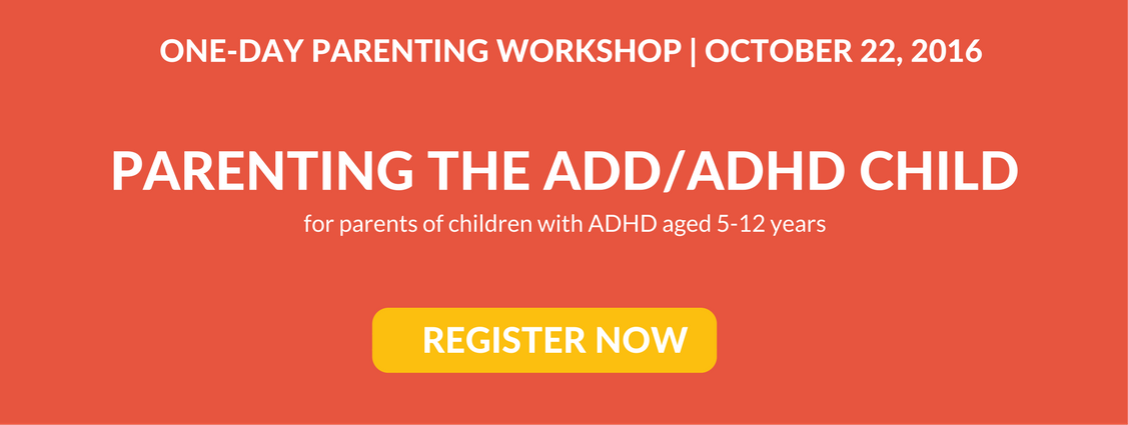 ADHD parenting workshop