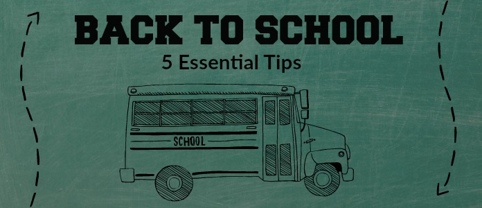 Back to School Tips 2016