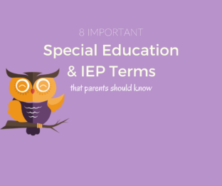 8 Special Education & IEP Terms Parents Should Know